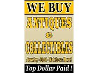 Wanted Silver Gold watches medals Coins antiques