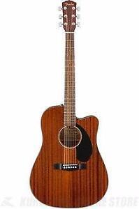Cutaway Acoustique Électrique Fender 0961705021 CD60SCE MAH