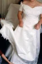 Beautiful ivory beaded wedding dress, size 16 Plympton Park Marion Area Preview