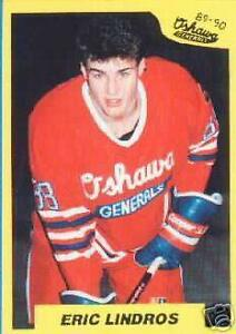 1989-90 OSHAWA GENERALS .. 23 card team set .. with ERIC LINDROS