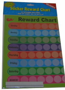 Reward Chart Stickers Ebay