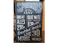 Chalkboard Writing Services