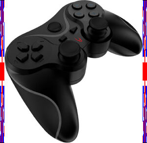 BRAND NEW - Wireless Cordless Bluetooth Gamepad - USB Controller Black - for PS3
