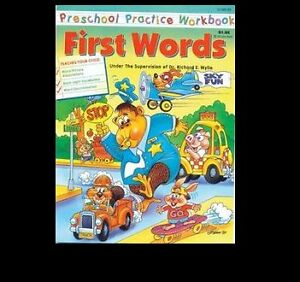 NEW PRESCHOOL WorkBooks (2 of them) and Easy Reader Book