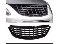 Corsa D debadged grill