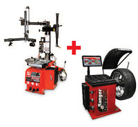Ranger tire changer and balancer