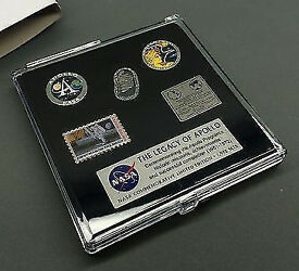 Nasa Apollo 40th Anniversary Pin Badge Collection Set Collectable Neil Armstrong Hubble Telescope