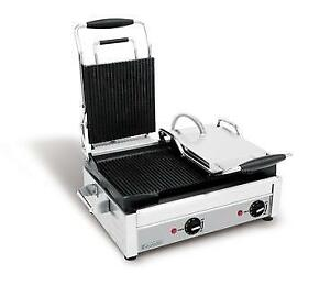 Panini Press, Sandwich Grill, Double Commercial Press, Heated Soup Kettle, Soup Warmer, Crepe Maker, KRAMPOUZ Creperie