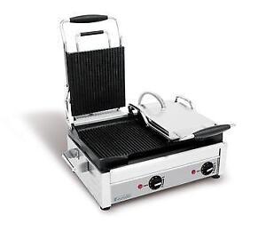 Panini Press, Sandwich Grill, Double Commercial Press, Heated Soup Kettle, Soup Warmer, Crepe Maker, KRAMPOUZ Creperie