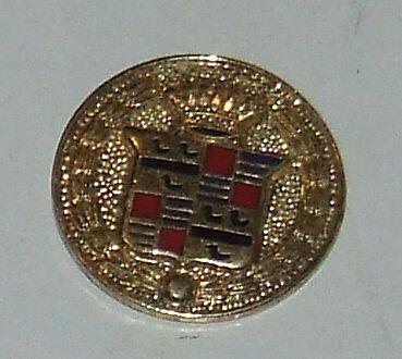 Cadillac Gold Medallion  Logo Hat Pin Badge