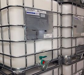 16 IBCs for sale! Used but in Excellent condition!Hand valves in tact with end caps provided