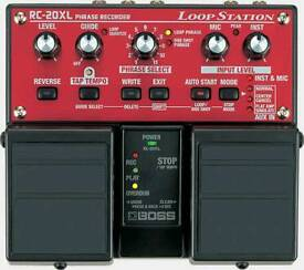 Boss RC- 20 XL loop station