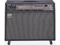Roland guitar amplifier VGA 7 guitar modeling amp and more.