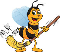 ** Ménage Abeille HOMA Cleaning Lady Bee **