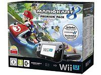 Nintendo Wii U Mario Kart Bundle 32GB Console - Brand New