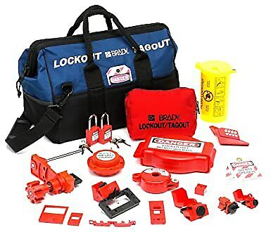 Brady Combination Lockout Kit For Electrical And Valve Lockout Product 99689
