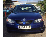 2004 NISSAN ALMERA S 1.5 PETROL CHEAP CAR MUST VIEW !