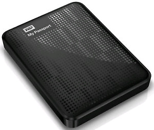 WD My Passport 1TB external hardrive