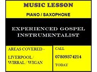 Gospel / Church Keyboard / Piano / Saxophone Instrumentalist / Liverpool / Wigan / Manchester