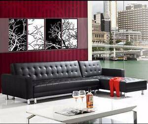 Brand New Quality 3 Meters PU Leather Sofa Bed Couches Loung Clayton South Kingston Area Preview