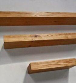 Solid Oak Floating Shelf