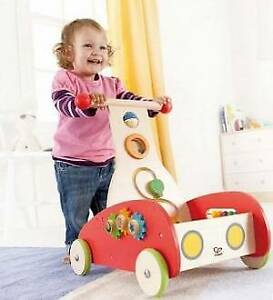HAPE Wooden Baby Walker Wagon / Activity Centre - RRP$100 Kangaroo Point Brisbane South East Preview