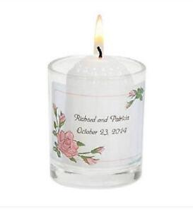 personalized candles ebay