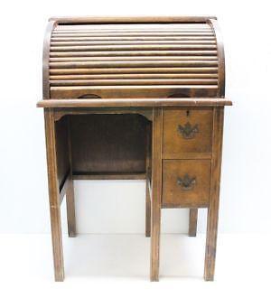 Antique Roll Top Desk | EBay