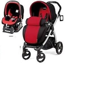 Peg Perego Book Stroller set travel system+ car seat with base