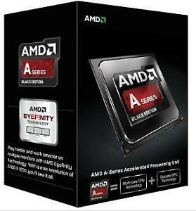 BRAND NEW AMD CPU for SALE! (A4-6400K FM2 CPU, A8-7650K FM2,FX4300 AM3+,FX6300 AM3+) Starting at $82.79.