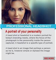 Free high end headshots by visual artiste/photographer