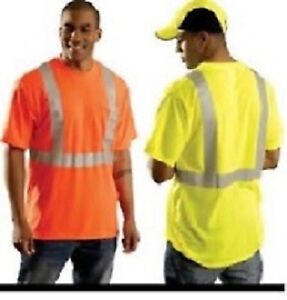 High-visibility-safety-t-shirt-workwear-reflective-construction-