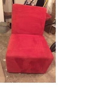 Red Accent Chair to brighten up any room!