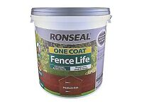 Ronseal Fence Life Paint - Medium Oak 9L