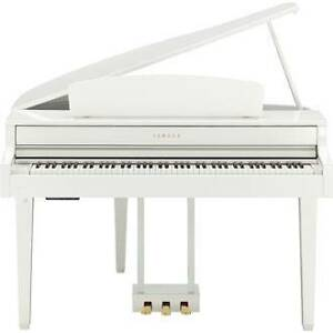 Yamaha CLP565GP White Baby Grand Piano $5,995 Adelaide CBD Adelaide City Preview