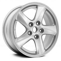 "Set of 4-6.5x16"" Alum rims with Kumho RH18 215/65 tires"