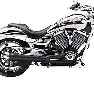 2878995-266 VICTORY Stage 1 Tri-Pro Exhaust NOIR