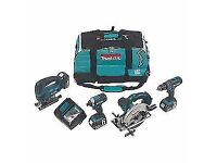 MAKITA DLX4088,, 18v lxt li-ion 4 piece kit BRAND NEW..