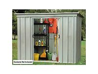 Shed 8'x4' metal brand new in packaging