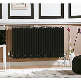 Acova 2-Column Horizontal Radiator 600 x 812mm colour=volcanic