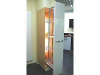 Height Adjustable Pull Out Larder Unit