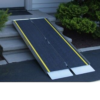Scooter Ramps For Cars >> wheelchair ramp /scooter ramp /Portable Handicap 2 4 6 8 10 ft | Health & Special Needs | City ...
