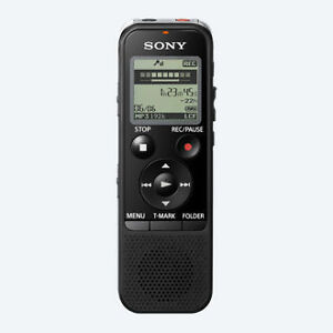 2 SONY Voice Recorder with Computer Accessories