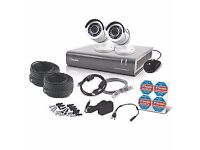 Full HD CCTV kit 2XCameras 1080P 1TB 4 Channel
