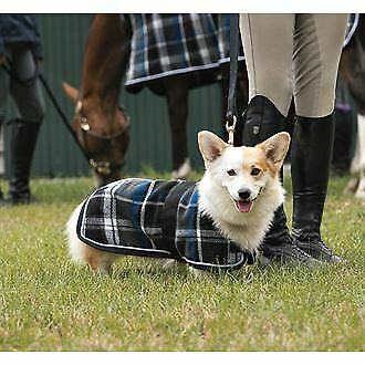 Dover Saddlery Premium Plaid Wool Dog Blanket