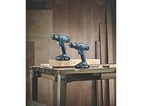 ERBAUER 18V 2.0AH LITHIUM COMBI DRILL & DRILL DRIVER *BRAND NEW BOXED* NO OFFERS