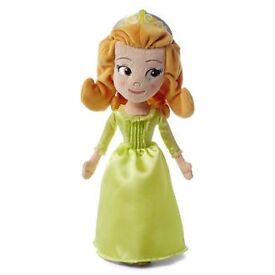 Amber from Sofia the First Plush doll BNWT