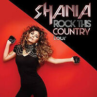 2 Tickets to Shania Twain - Rock This Country Tour