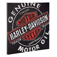 HARLEY-DAVIDSON® Oil Can Canvas Print