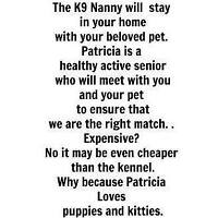 K9 Nanny will travel to your Home within 250 km of Barrie!